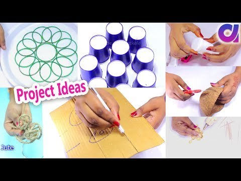15 best out of waste project ideas | DIY Arts and Craft | Ar