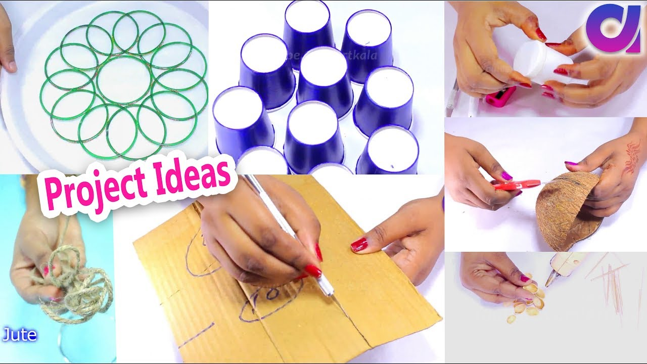 15 Best Out Of Waste Project Ideas Diy Arts And Craft Artkala