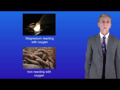 GCSE Science Chemistry (9-1) Reaction Of Metals With Oxygen