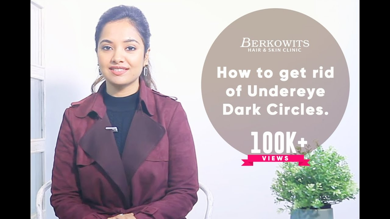 """How to Get Rid of """"Under Eyes Dark Circles""""? - YouTube"""