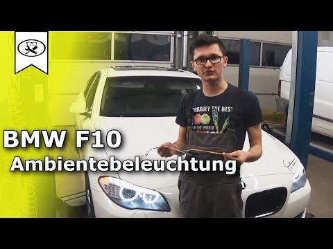 BMW F10 Ambientebeleuchtung Nachrüsten | BMW Ambient Lighting Upgrade  |  VitjaWolf | Tutorial | HD