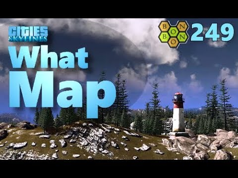 Cities Skylines - What Map - Map Review 249 - Owl's Merchants Bay