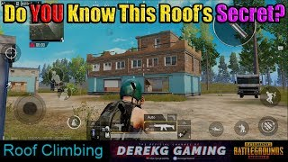 Secret of the FISH MARKET ROOF  - Did You Know This? | PUBG Mobile withDerekG