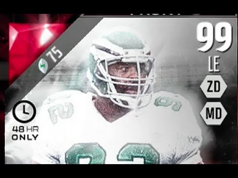 ULTIMATE LEGEND BOSS REGGIE WHITE NOW IN MUT 16! Madden 16 Ultimate Team Review
