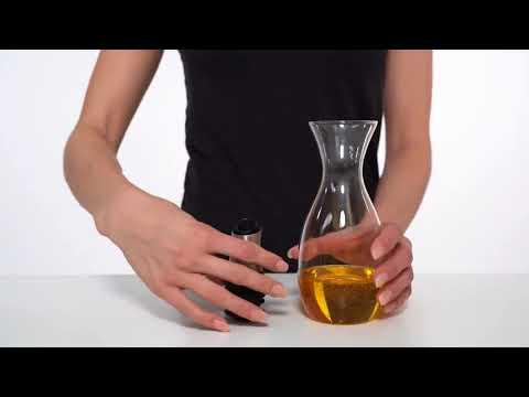 Cole  Mason Oil  Vinegar Pourer with Flow Control