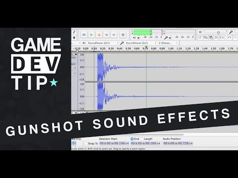 Game Dev Tip: Creating Gun Shot Sound Effects