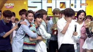 쇼챔피언 세븐틴(SEVENTEEN) - 예쁘다(Pretty U) + 1위 (1st Win) @ Show Champion