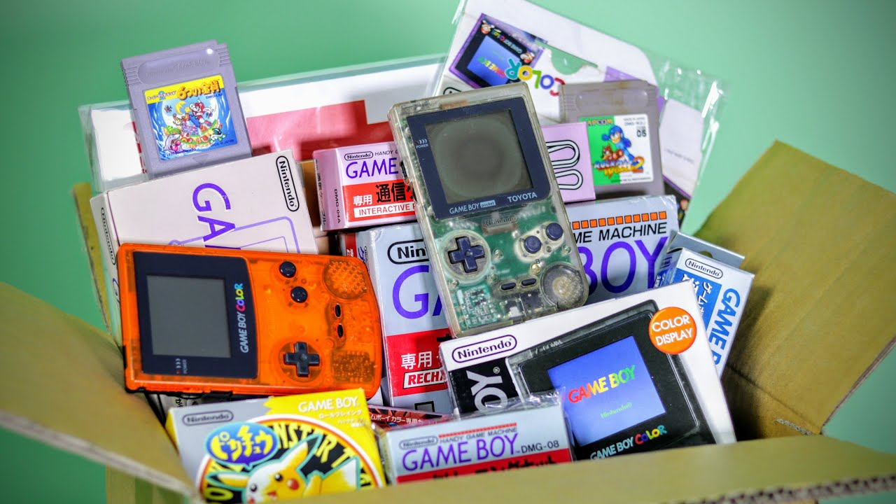 Unboxing $1,000 of RARE Japanese GameBoys
