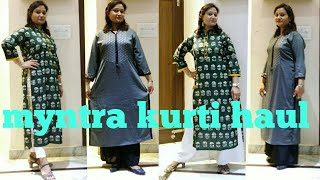 myntra/limeroad kurti haul,Budget kurti,end of season sale,anvesha,s creativity