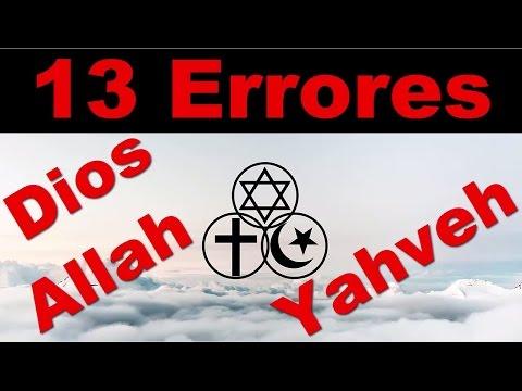 Los 13 Peores Errores de Dios, Yahweh, Jehova, yhvh, Allah  - Documental en español