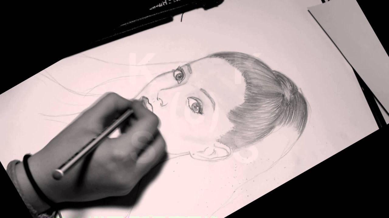 Ariana grande problem speed painting speed drawing