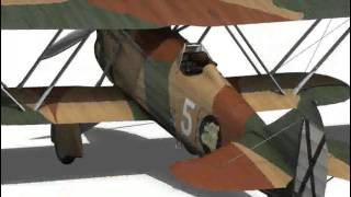 Fiat CR.32 - Italy Air Force - X Gruppo 3D model from CGTrader.com