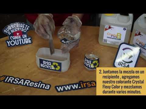 RESINA EPOXICA TUTORIAL ECO CRYSTAL FLEX DE IRSA