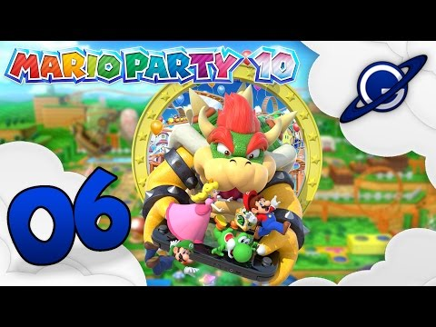 Mario Party 10  Let's Play 06: Château du chaos Mode Mario party FR ᴴᴰ