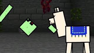 Рисуем мультфильмы 2 Майнкрафт анимация Приключения жителя