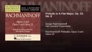Prelude in A-Flat Major, Op. 23: No. 8