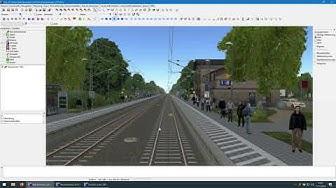 Vorschau auf die Zusi-3-Strecke Bad Bevensen - Deutsch Evern