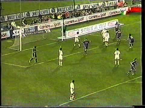 Serie A 2004/2005: Fiorentina vs AC Milan 1-2 - 2005.04.30