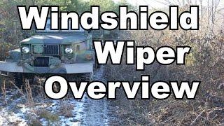 Deuce Windshield Wiper Overview