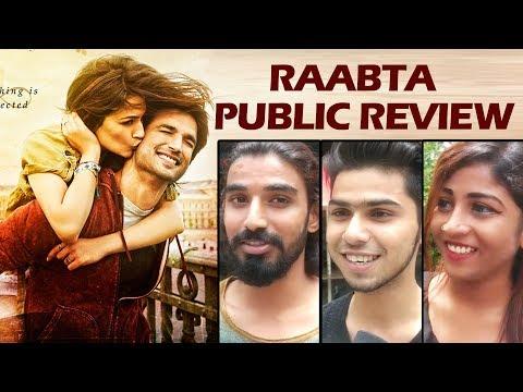 Raabta Movie PUBLIC REVIEW - जनता की राय - Sushant Singh Rajput, Kriti Sanon