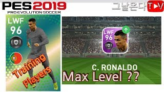 호날두에게 호날두를 먹여보았다 + What Happens When TRAINING PLAYERS With Same PLAYERS | PES 2019 mobile
