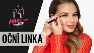 Make-up in the City w/ Monika Bagárová: Oční linka (Epizoda 2)