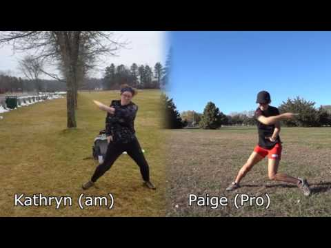 Women's Pro Vs Am Side by Side Form Comparison