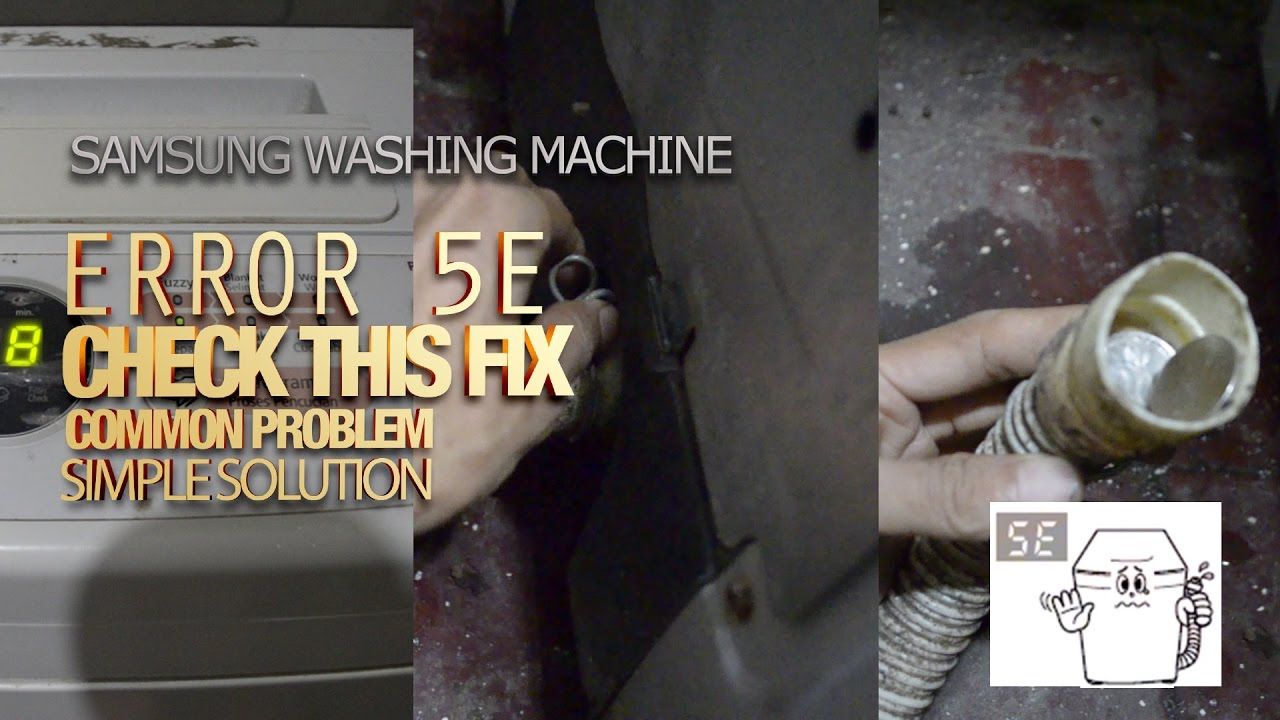Samsung Washing Machine Errors: How to Understand the Malfunction and Repair 24