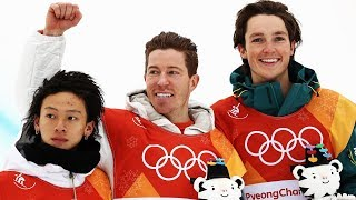 Highlights of the Men's Snowboard Halfpipe Final | Pyeongchang 2018