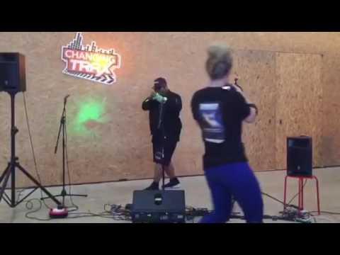 Omz$tar performing Lust at Fargo Village