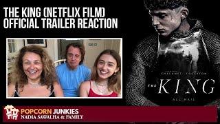 The King (Netflix Film) Official Trailer (Timothee Chalamet) The Popcorn Junkies REACTION