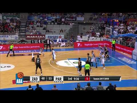 Knowles with a steal, Knowles with a beautiful assist! (Zadar - Partizan NIS, 14.10.2017)