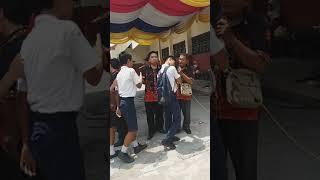 MENYANYIKAN LAGU PERPISAHAN, SMP PAHLAWAN NASIONAL, 2019