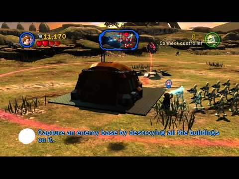 lego star wars 3 -- count dooku chapter 4 defenders of peace - youtube