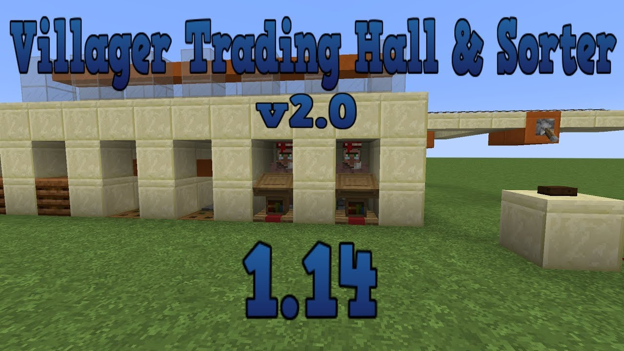 Converting old trading hall to 1 14 - Recent Updates and