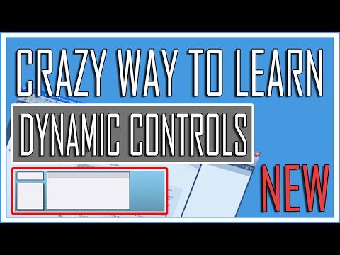 Visual Basic Advance Lesson 23 - Dynamic Controls (Crazy Tutorial)