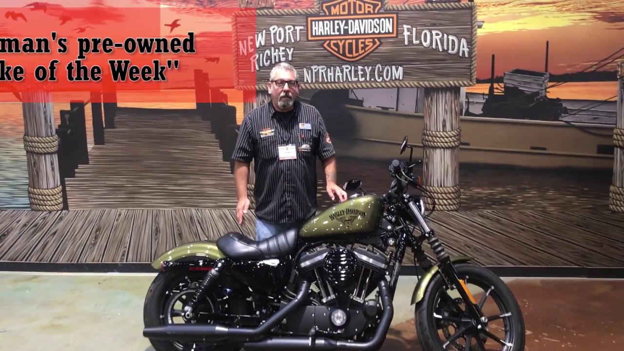 used 2016 harley davidson iron 883 for sale 2018 motorcycles - youtube