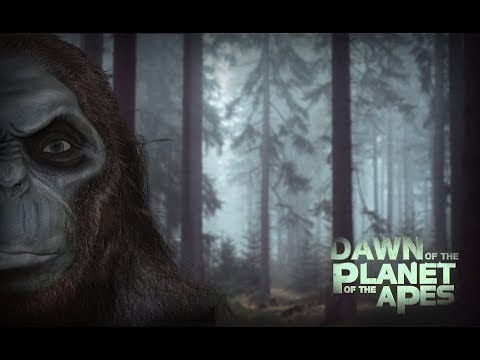 Planet of the Apes character - Zbrush head sketch