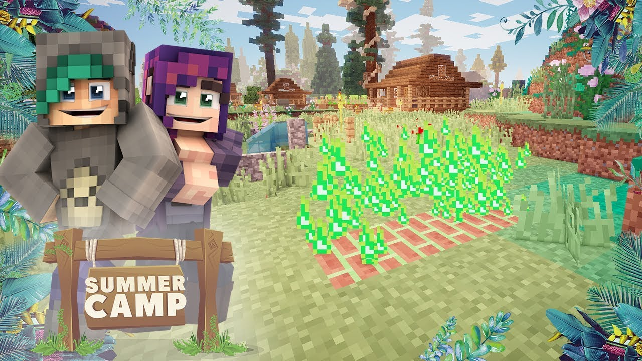 Download MAGIC FIREPLACES AT CAMP?! - Minecraft Summer Camp SMP - Ep.8