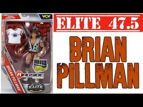 WWE Brian Pillman Action Figure Elite 47 B Mattel Toy NEW