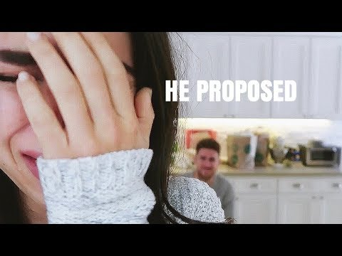HE PROPOSED and I VLOGGED it!
