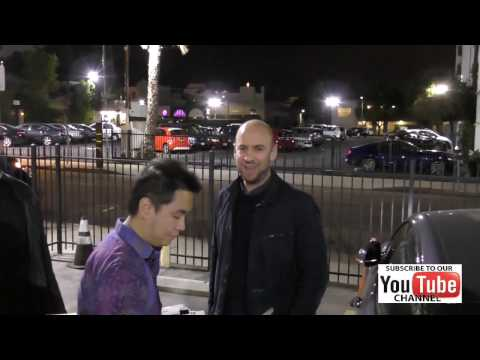 John Hamburg Talks About Fan Reaction To His Movie Why Him Outside The Egyptian Theatre In Hollywood