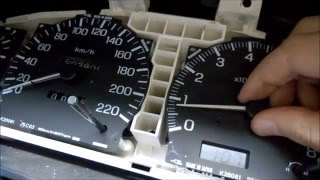 видео ремонт приборной панели