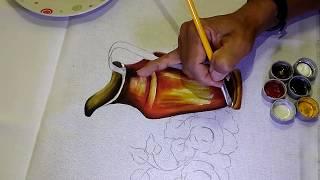 Como Pintar Jarra de Cobre – Parte 1