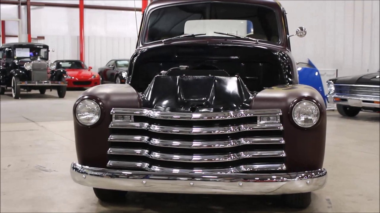 1948 Chevy pickup - YouTube