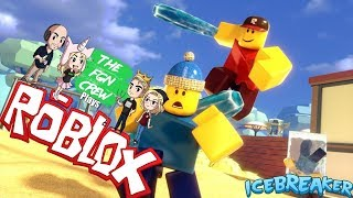 The FGN Crew Plays: ROBLOX - Ice Breaker