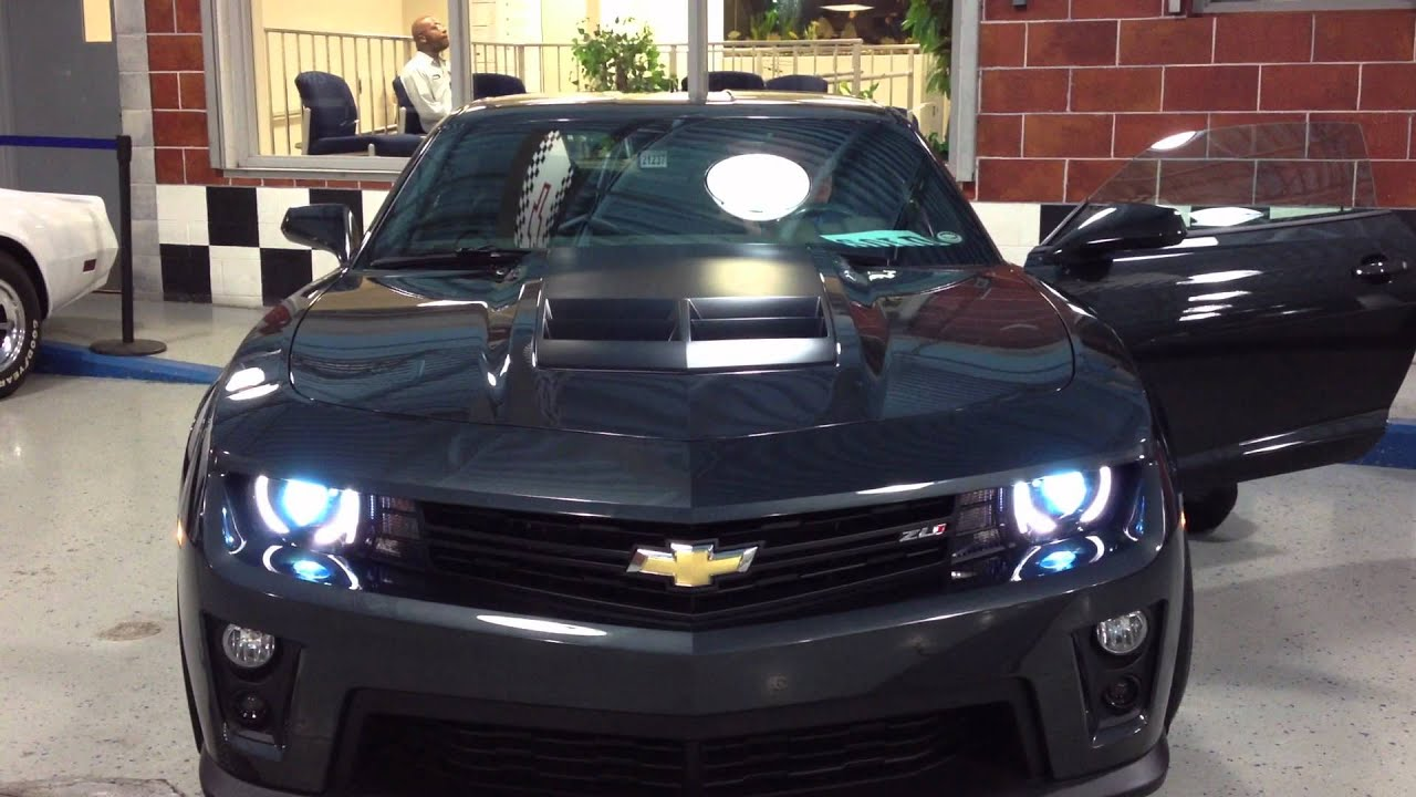 Ashen Grey Camaro Zl1 Start Up And Rev Youtube