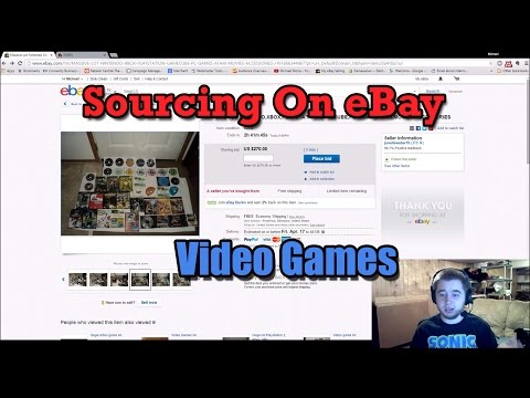 How I Source Video Games On Ebay - Quick Breakdown Of Making Money Online