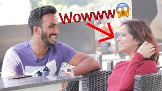 PICKING UP GIRLS WITH CHEESY LINES EVER | AJ PRANKS | Oye It's Uncut