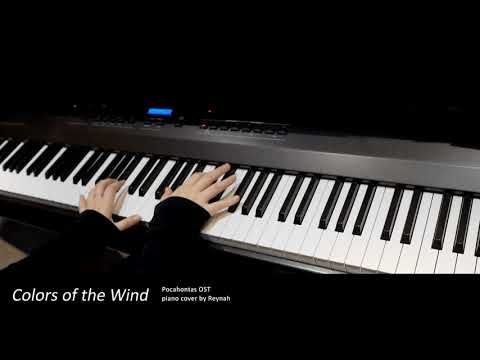 """Pocahontas OST : """"Colors of the Wind"""" Piano cover"""